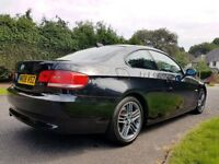 BMW 320D 2008 COUPE / XENONS / LEATHER / FSH / 12 MONTHS MOT / PDC / not 318d, 325d m sport px
