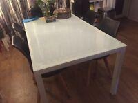 Dining table £15 / chair £20 each