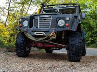 """Land Rover series 3 1984 88"""" winch challenge off roader, galvanised chassis, road legal"""
