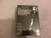 The Ultimate Bourne collection DVD box set