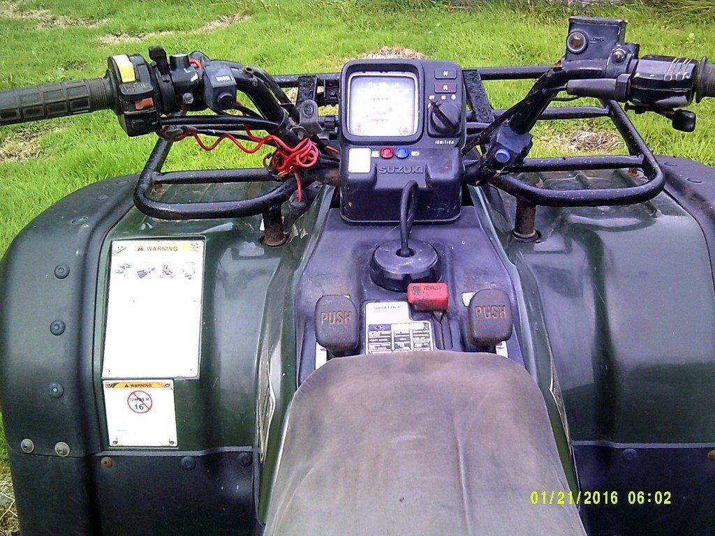 1996 suzuki farm quad