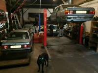 Garage equipment classic and rare cars,project,lift car,alloy wheels,audi parts all for sale