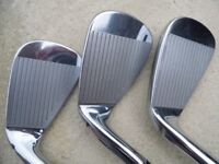 Taylormade RBZ Tour irons KBS reg shafts 4 to PW, like new condition £230
