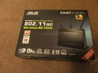 ASUS RT-AC68U AC1900 Dual-Band Gigabit Wireless Router
