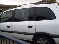For Sale Vauxhall Zafira 51 plate 7 seater..