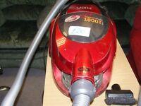 Vax Swift 1800T 1800 Watt Cylinder Bagless Vacuum Cleaner