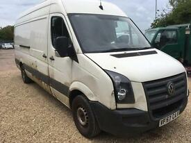 VW CRAFTER 2.5 RUNNER - Spares or repair QUICK SALE TODAY