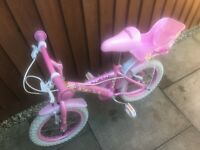 "Girls 14"" daisy bike"