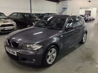 BMW 1 SERIES 2.0 118d M Sport 5dr - IMMACULATE (FULLY SERVICED & MOT) £4,599