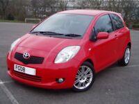 2009 Toyota Yaris 1.3 Vvti SR SatNav. Full Service History. 76000 Miles. Mot December. Alloy Wheels.