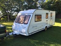 Elddis golden jubilee 2003 4 berth moter mover full awning anversery model end changing area