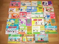 45 volumes of ANDY CAPP COMIC STRIP BOOKS