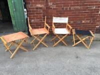 Director/fishing chairs