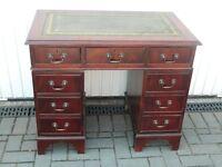 DESK small mahogany style