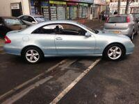 05 MERCEDES 270 CLK CDI AUTO FULL MOT V/CLEAN £2195