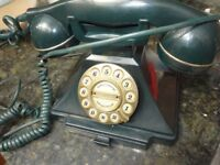 VINTAGE ASTRAL PUSH BUTTON PHONE