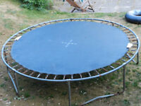 Large 10 foot Diameter Trampoline *FREE* to good home