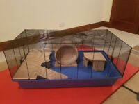 BARNEY SUPER very very large, high quality cage for hamsters/mice - 100cm (L) x 54cm (W) x 45cm (H)