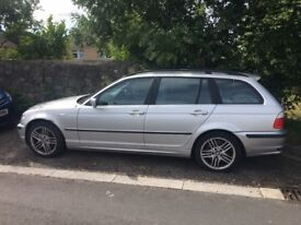 BMW 330i Touring - No MOT, but it won't take much to pass! Very Reliable & Runs perfectly!