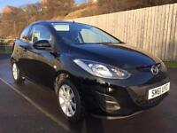 MAZDA 2 1.3 TS2 **52000MILES** £30 TAX FOR YEAR not corsa clio aygo fiat 500