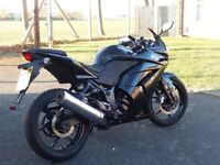 2008 KAWASAKI NINJA 250R WITH 1 YEARS MOT