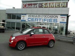 2013 Fiat 500 Convertible Lounge