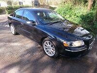 VOLVO S60 SE 2.4 D - LONG M.O.T. - DRIVES SUPERB - FULL LEATHER INTERIOR - STUNNING IN BLACK