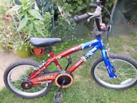 """Kids BMX Juggler Bike 18"""" Wheels"""