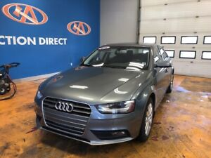 2013 Audi A4 2.0T Premium QUATTRO/ LEATHER/ POWER SUNROOF/  H...