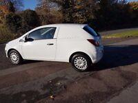2014 Vauxhall Corsa Van 1.3 diesel , 1 Owner , 1 Year MOT ,