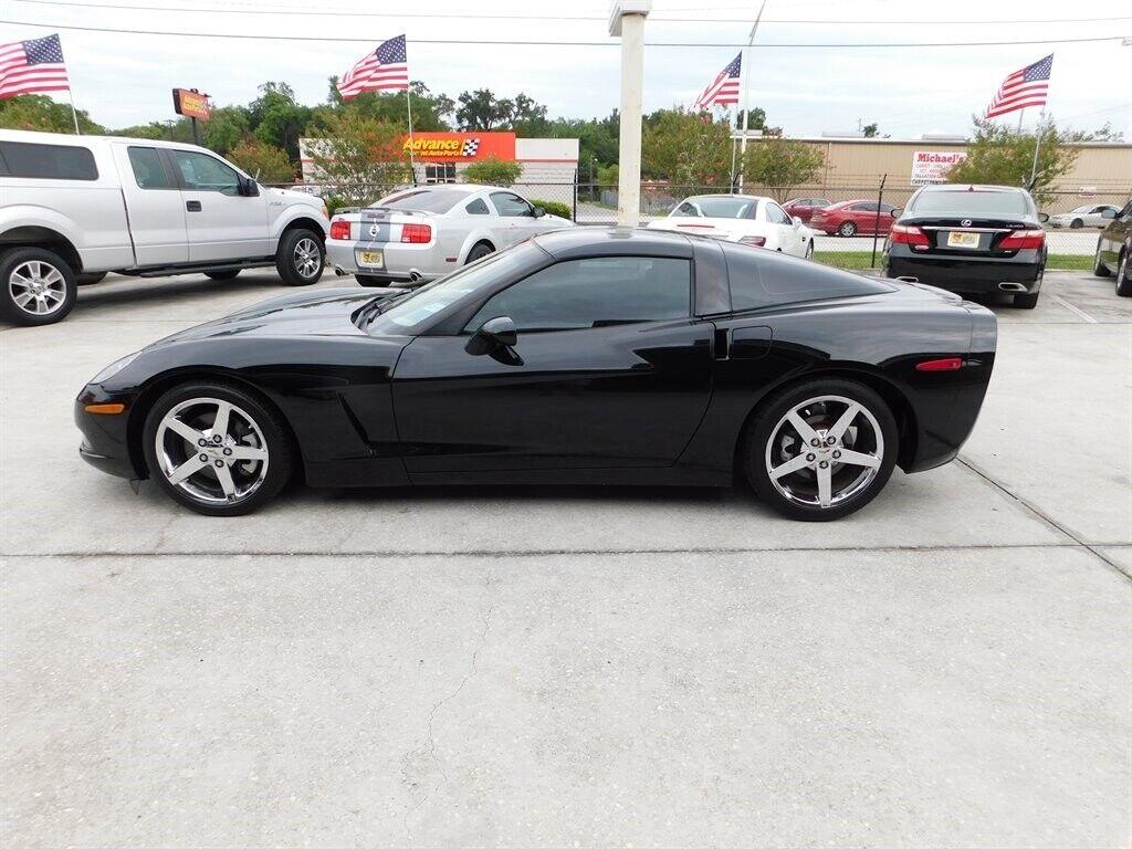 2008 Black Chevrolet Corvette     C6 Corvette Photo 3