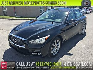 2014 Infiniti Q50 AWD Deluxe Touring | Navigation, Sunroof