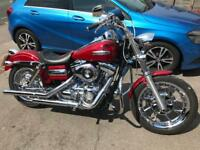 Harley Davidson FXDC SUPERGLIDE 1584cc, 870 miles