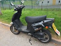 TGB 202 CLASSIC 50cc SCOOTER MOPED: 2 years old, ideal first bike.