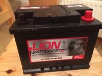 Brand New Car Battery - 2 Years Warranty by RAC - Price 30