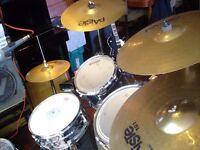 Paiste 101 Cymbal set. VGC.