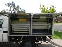 Aluminium Service Cabinet suit tray back ute Jewells Lake Macquarie Area Preview