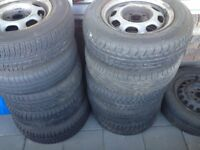 In good condition Normal Gulf used tyres