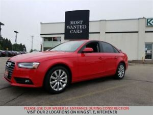 2013 Audi A4 QUATTRO AWD | SUNROOF | LEATHER