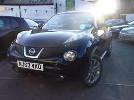 Nissan Juke 1.5 dCi Tekna 5dr [Start Stop] (black) 2013