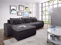 Corner Sofa Bed Sofa Corner VEGAS Brand New Packed Function and Storage Universal Side Fast Delivery