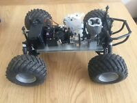 1/10 Nitro RC Truck 4x4 comes with special gear