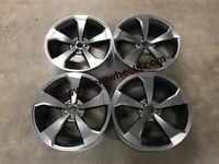 "18 19 20"" Inch Audi TTRS RS3 style alloy wheels A1 A3 A4 A5 A6 A7 A8 Caddy Van Seat Skoda 5x112'"