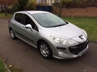 Peugeot 308 1.6 VTi S 5dr, 6 MONTHS FREE WARRANTY, FULL SERVICE HISTORY