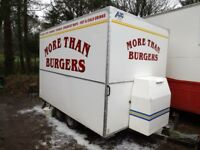 3m x 2m Mobile catering trailer £4,500 ono