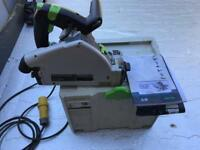 Festool Ts55 plunge rail saw