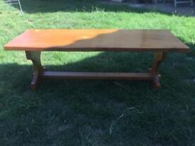 Wooden bench (solid)