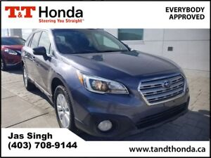 2016 Subaru Outback 2.5i Touring Pkg Heated Seats, Sunroof, Blue