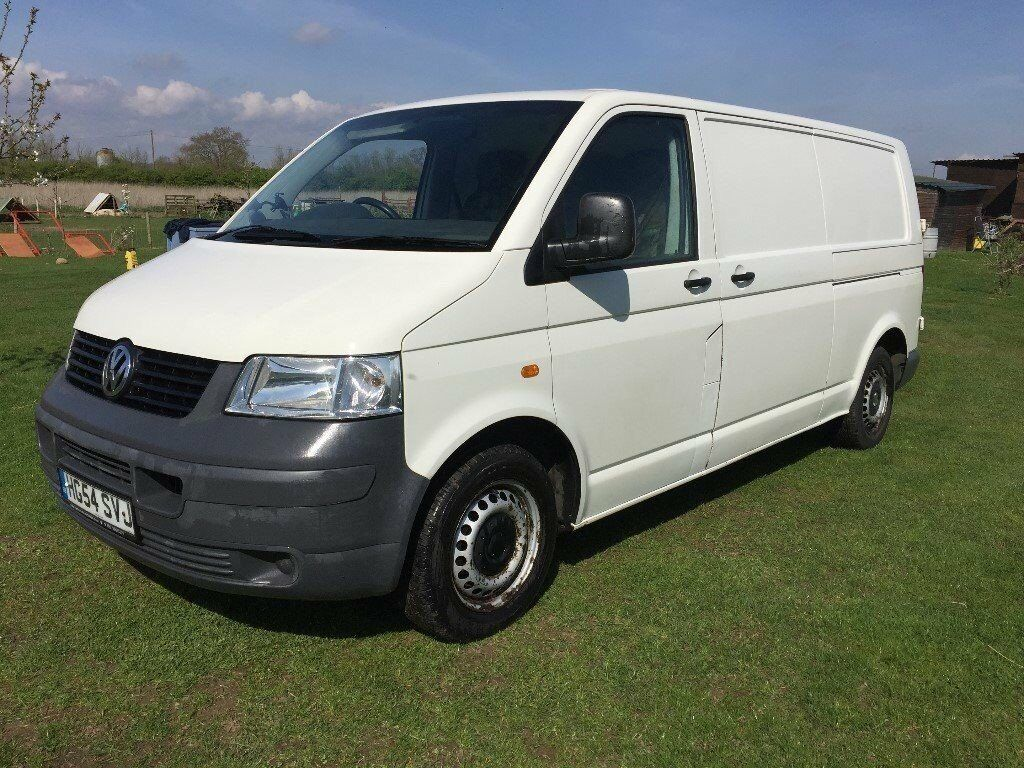 2005 vw t5 transporter van lwb t30 diesel 1 9 tdi lwb 105 bhp like vauxhall vw t5 renault camper. Black Bedroom Furniture Sets. Home Design Ideas