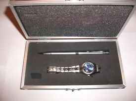 NEW WATCH MATCHING PEN IN BOX ONLY £12, BARGAIN.